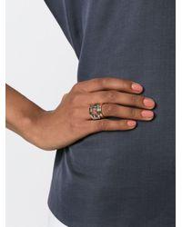 Fendi | Metallic 'the Sta' Ring | Lyst