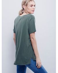 Free People | Green We The Free Womens We The Free Je T'aime Tee | Lyst