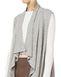 AKIRA | Gray In The Mood Grey Vest | Lyst