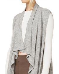 AKIRA - Gray In The Mood Grey Vest - Lyst