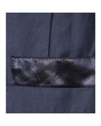 Victoria, Victoria Beckham - Blue Cotton-blend Jumpsuit - Lyst