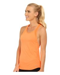 Nike | Orange Dri-fit™ Crew Tank Top | Lyst