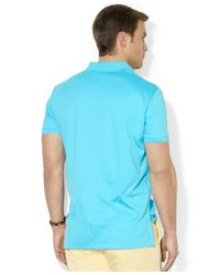 Polo Ralph Lauren | Green Pima Soft-touch Polo Shirt for Men | Lyst
