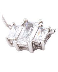 V Jewellery | Metallic 'Ruxton' Necklace | Lyst