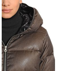 Duvetica - Brown Thiadue Cinzato Wool Blend Down Jacket - Lyst