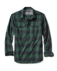 Banana Republic | Green Slim-fit Buffalo Check Flannel Shirt for Men | Lyst