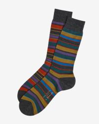 Ted Baker | Gray Socks for Men | Lyst