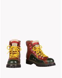 DSquared² - Brown Saint Moritz Ankle Boots for Men - Lyst