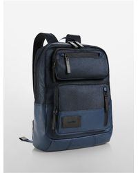 Calvin Klein | Blue Jeans Tech Nylon Travel Backpack for Men | Lyst