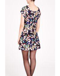 Louche - Black Floral Print Dress - Lyst
