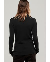 Rag & Bone - Black Bianca Top - Lyst