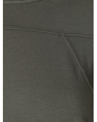 DRKSHDW by Rick Owens - Gray 'geo' Long T-shirt - Lyst