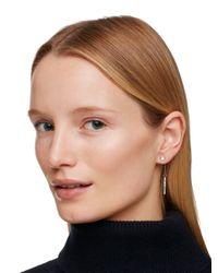 Kate Spade | Metallic Dainty Sparklers Bar Linear Earrings | Lyst