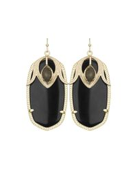Kendra Scott - Metallic Darby Pebble Drop Earrings - Lyst