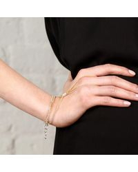 Maya Magal | Metallic Hand Chain Bracelet | Lyst