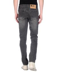 Cheap Monday - Gray Denim Pants for Men - Lyst