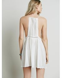 Free People | White Tilly Tunic | Lyst