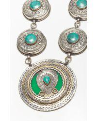 Natalie B. Jewelry | Blue Esmeralda Necklace | Lyst