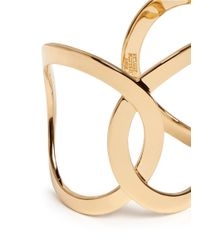 Philippe Audibert | Metallic Cutout Chain Link Cuff | Lyst