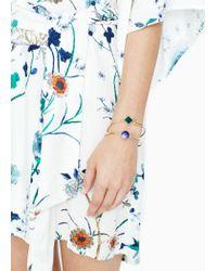 Mango | Metallic Rigid Bracelet Set | Lyst