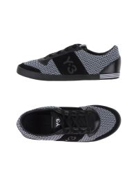 Y-3 - Black Low-tops & Trainers for Men - Lyst