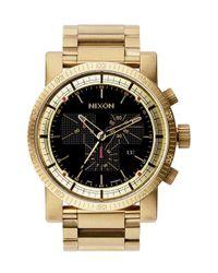 Nixon - Metallic 'the Magnacon' Watch for Men - Lyst