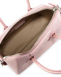 Givenchy - Pink Mini Antigona Tote - Lyst