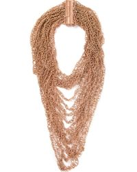 Rosantica | Metallic Layer Necklace | Lyst