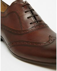 H by Hudson - Brown H By Hudson Francis Oxford Brogue Shoes for Men - Lyst