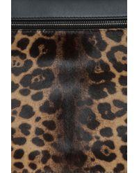 Victoria Beckham - Multicolor Large Leopard Zip Pouch - Lyst