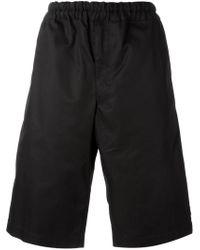 Alexander McQueen - Black Loose Fit Shorts for Men - Lyst