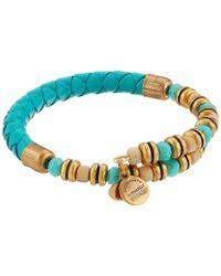 ALEX AND ANI | Blue Adventuress Wrap Bracelet | Lyst