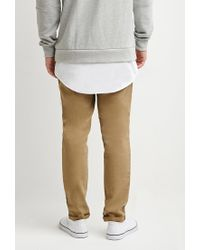 Forever 21 - Natural Paneled Utility Pants for Men - Lyst