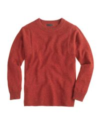 J.Crew - Natural Collection Cashmere Seamed Sweater - Lyst