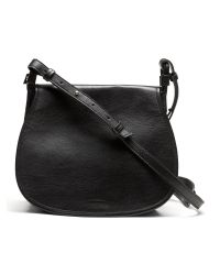 Banana Republic | Black Saddle Crossbody | Lyst