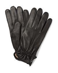 Want Les Essentiels De La Vie   Black Chopin Cashmere-lined Leather Gloves for Men   Lyst