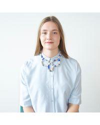 Hring Eftir Hring - Blue Ballerina Necklace Sailing - Lyst