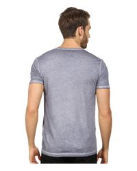BOSS Orange - Gray Toulouse Garment Dyed Jersey Fashion Fit Short Sleeve V-neck Tee for Men - Lyst
