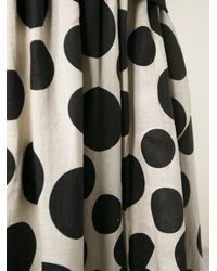 Comme des Garçons - Black Polka Dot Skirt - Lyst
