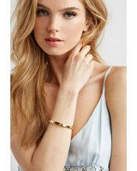 Forever 21 - Yellow Wanderlust + Co Multi-stud Bangle - Lyst