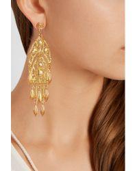 Ben-Amun - Metallic Gold-plated Earrings - Lyst