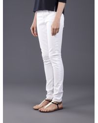 Citizens of Humanity   White Ava Low-rise Straight-leg Jeans   Lyst