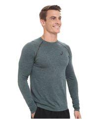 Asics - Green Seamless Long Sleeve for Men - Lyst