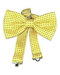 FORZIERI | Yellow Polkadot Pre-tied Bowtie for Men | Lyst