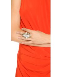 Samantha Wills | Metallic Reality Of Dreams Grand Ring - Gold/white | Lyst