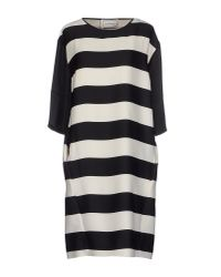 By Malene Birger - White Short Dress - Lyst
