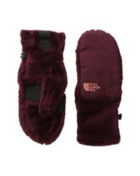 The North Face - Red Denali Thermal Mitt - Lyst