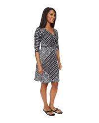 Prana - Gray Belladonna Long Sleeve Dress - Lyst