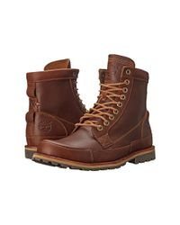 "Timberland - Brown Earthkeepers® Rugged Original Leather 6"" Boot for Men - Lyst"