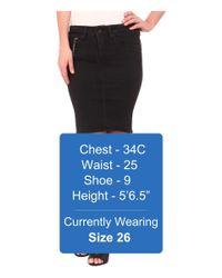 G-Star RAW | Black New Midge Sculpted Slim Skirt | Lyst